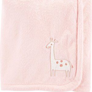 CARTER'S | Baby Girl Giraffe Plush Blanket NWT
